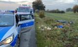Śmiertelny wpadek w Łowiczu. Nie żyje potrącona rowerzystka