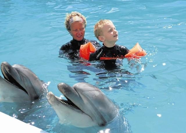 Marcin Kempski ma zdiagnozowany autyzm od sześciu lat. By lepiej funkcjonował ma zajęcia z delfinami, jeździ konno i uczestniczy w terapiach z czworonogami