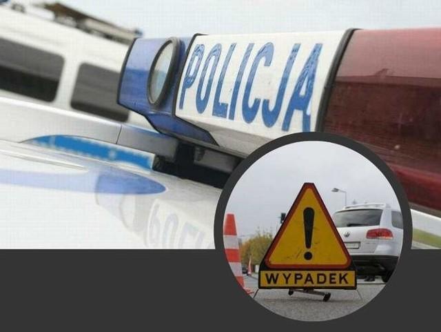 Po zderzeniu dwóch aut dwie osoby zostały ranne