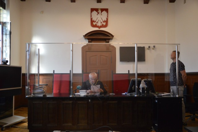 Mieszkaniec Miastka skazany za atak na działacza PiS-u