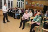 Wykład o Platformie Usług Elektronicznych ZUS na Uniwersytecie Trzeciego Wieku w Brzezinach