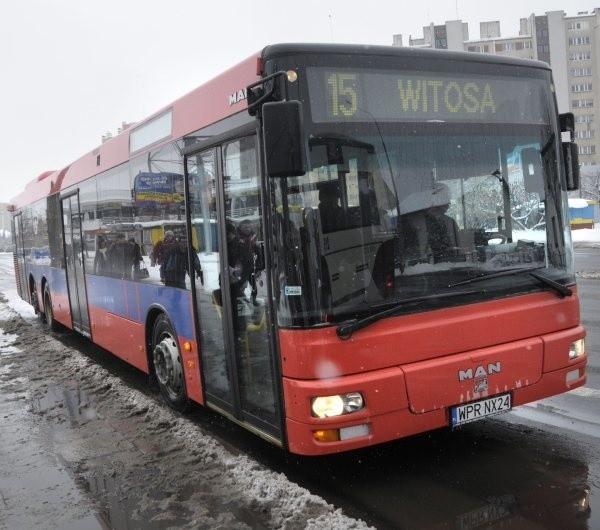 15-metrowy MAN to pierwszy tego typu autobus w Opolu.