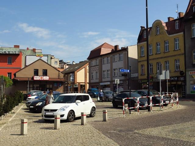 """Zamiast samochodów zieleń w centrum Rybnika. Przedłużą """"szpilkostradę"""" na Placu Wolności.Zobacz kolejne zdjęcia. Przesuwaj zdjęcia w prawo - naciśnij strzałkę lub przycisk NASTĘPNE"""