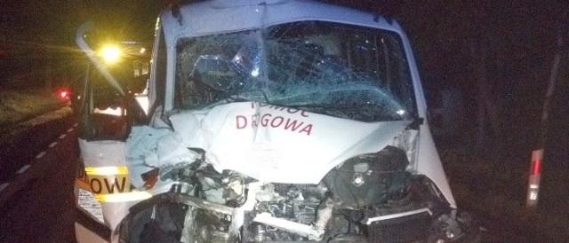 Wypadek w Knorydach