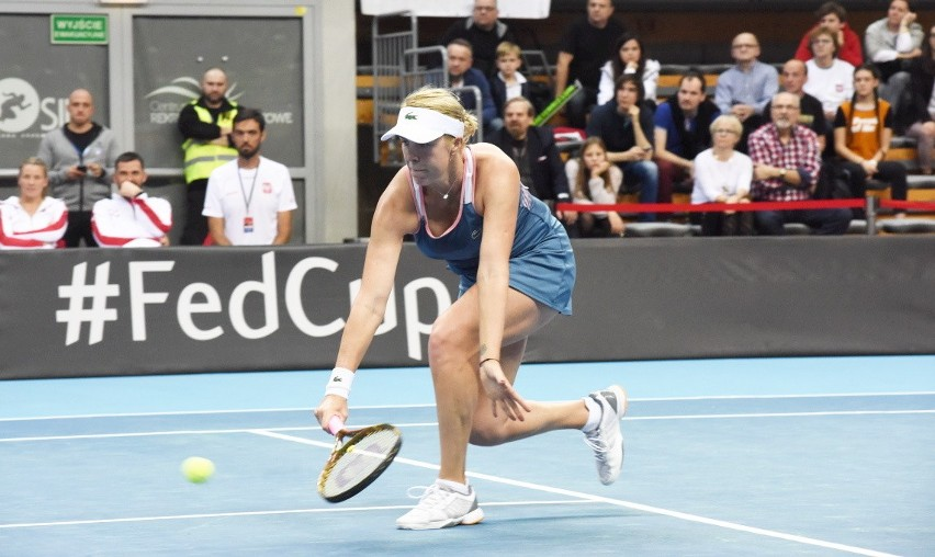 Polki pokonane! Rosyjskie tenisistki lepsze w turnieju Pucharu Federacji. Są faworytkami imprezy w Zielonej Górze