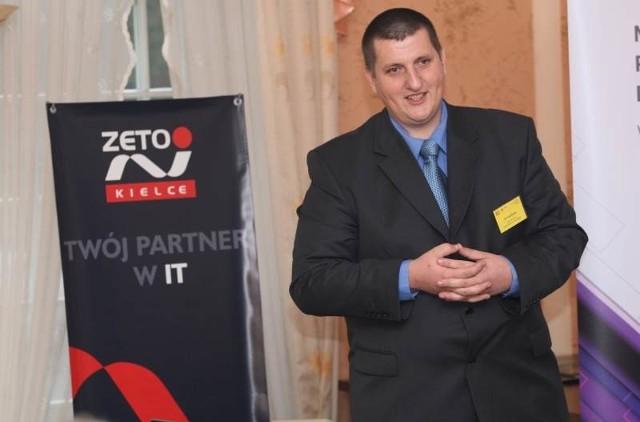 O tym co blokuje, a co irytuje menedżera w zarządzaniu firmą mówił podczas wczorajszej konferencji Konrad Buda z Centrum Systemów Komputerowych ZETO w Kielcach.