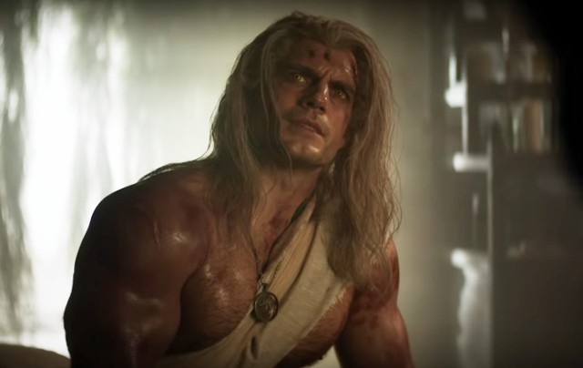 Henry Cavill w roli Geralta