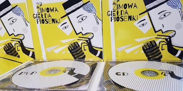Okładka płyty z zapisem XXVII Zimowej Giełdy Piosenki.