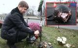 Skradziono kask zmarłego motocyklisty