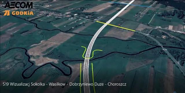 Odcinek S19 od węzła Białystok Zachód do Krynic ma być gotowy w 2024 roku