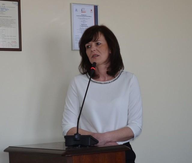 Lucyna Karnowska, kierownik, Zakład Aktywności Zawodowej w Tucholi