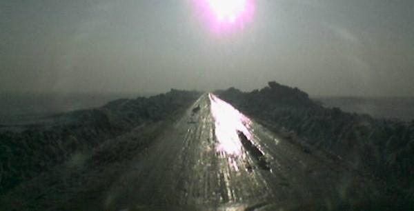 Droga Gościęcin - Zwiastowice. Zdjęcie internauty