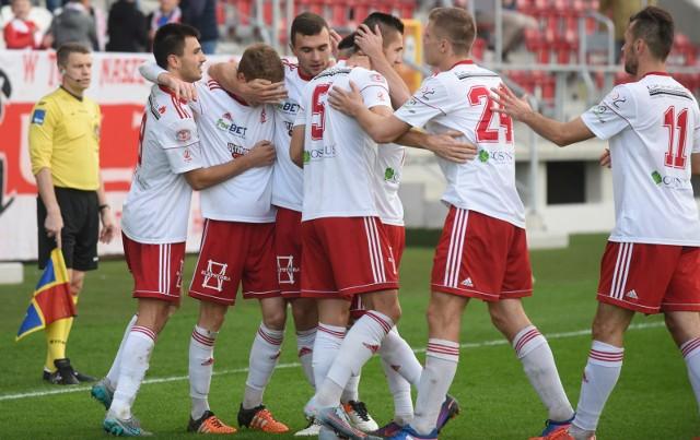 Mecz Błękitni  Stargard - ŁKS Łódź przełożony