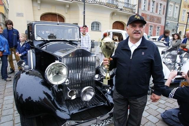 Zakończył się zlot samochodów marek Rolls Royce i Bentley