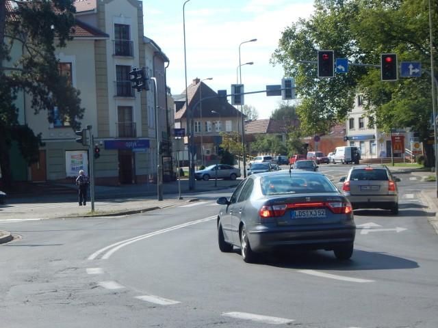 Projekt przebudowy skrzyżowania w Gubinie jest już na ukończeniu.