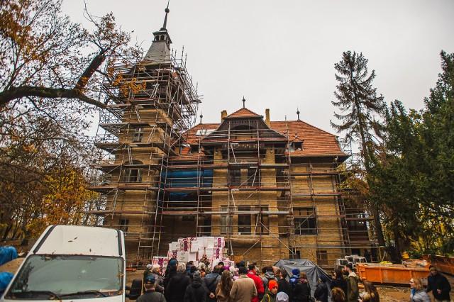 W dawnej willi Jünckego przy ul. Goyki powstaje siedziba Art Inkubatora