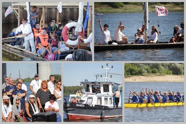 I znów na Wiśle zaroiło się od łodzi wszelakiej maści. Festiwal Wisły przyciągnął właścicieli drakkarów, berlinek, szkut, galarów i innych statków i łódek. W niedzielę we Włocławku po mszy w intencji flisaków w bazylice katedralnej pożegnano kawalkadę, która odpłynęła do Ciechocinka i Torunia, gdzie zaplanowano główne uroczystości z okazji Festiwalu Wisły. Widzów na bulwarach nie brakowało. Obchody we Włocławku w tym roku były, niestety, skromne.Festiwal Wisły 2018 we Włocławku - parada łodzi