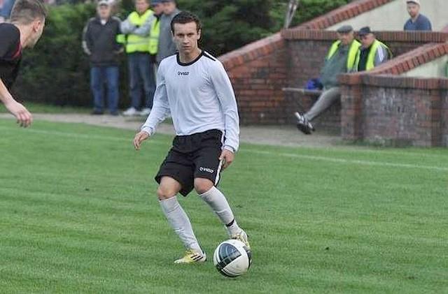 Denis Luptak zdobył dwa gole dla Swornicy.