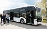 Na grudziądzkich ulicach testowany jest autobus elektryczny Mercedes Benz E-Citaro [zdjęcia]