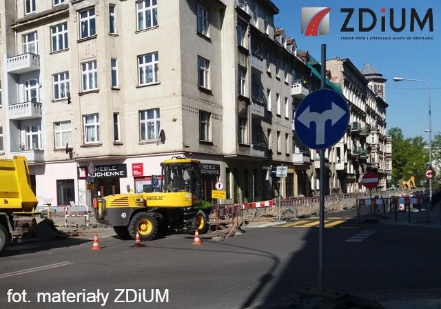 Remont ulicy Probusa ma się zakończyć w lipcu