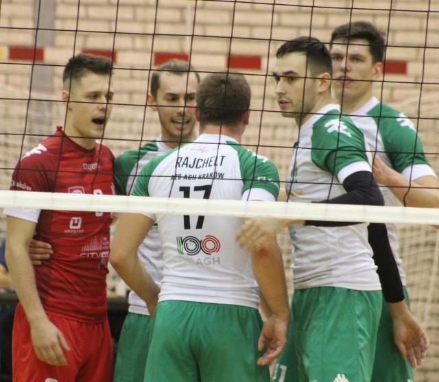 Rundę zasadniczą w I lidze siatkarze AZS AGH Kraków zakończyli na 12. pozycji