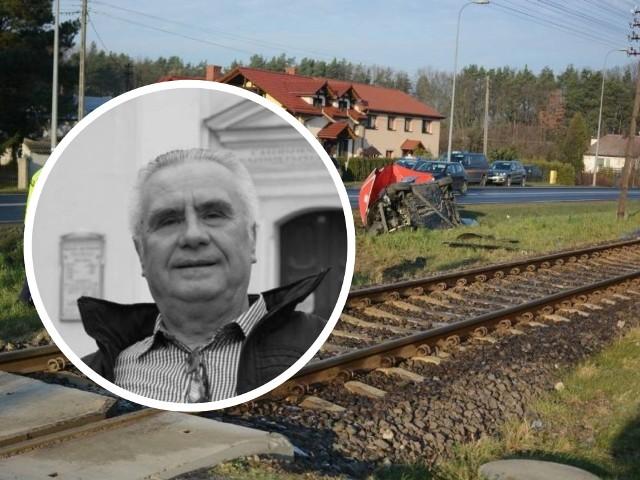 Janusz Dzięcioł feralnego dnia - 6 grudnia ub. roku - wracał z badań w szpitalu w Grudziądzu do domu. Przez przejazd kolejowy, na którym zginął, przejeżdżał niemal każdego dnia. Do domu miał zaledwie kawałek drogi... Został pochowany w Olsztynie.