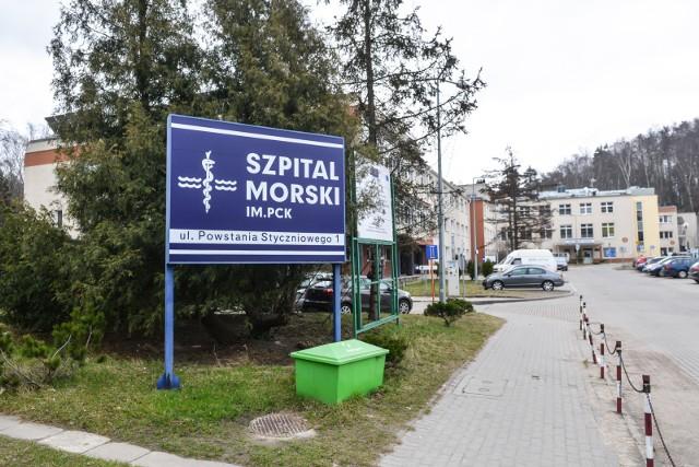 Do kradzieży sprzętu medycznego w gdyńskim Szpitalu Morskim im. PCK w Gdyni doszło w nocy z 4.10 na 5.10.2019 r.