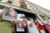 """""""Stop zamrożeniu płac"""". Pracownicy prokuratur wyszli na ulice"""