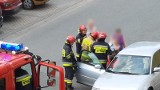 Strażacy ze Strzelec Opolskich ratowali dziecko zatrzaśnięte w aucie zaparkowanym na ul. Wyszyńskiego