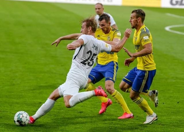 Arka Gdynia we wrześniu ubiegłego roku pokonała u siebie w pojedynku ligowym Puszczę Niepołomice 3:2. Korzystny wynik i awans uzyska także jutro?
