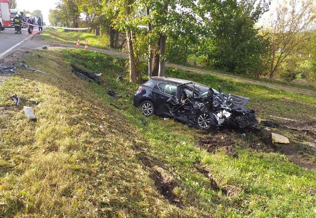Do wypadku w Niewierzu doszło 19 października
