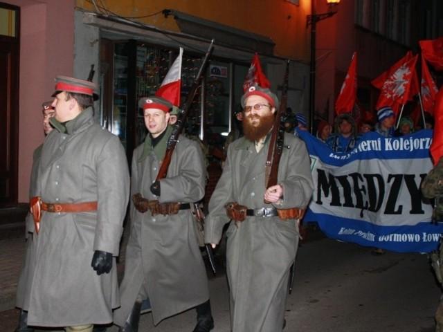 Marsz Powstańczy była hołdem dla bohaterskich przodków i manifestacją patriotyzmu.