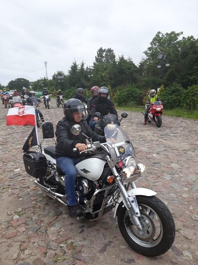 Otwarcie sezonu motocyklowego w Kołczygłowach.