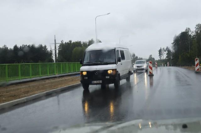 Remont drogi do Łap na odcinku Bojary - Uhowo. Ruch przełożono na nową jezdnię