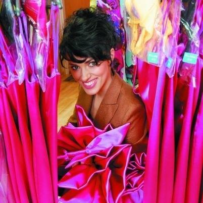 Elwira i jej 25 sukienek w stylu Marilyn Monroe dla finalistek Miss Polonia 2008