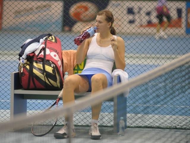 Przed rokiem Justyna Jegiołka wypadła w Zawadzie rewelacyjnie, docierając do półfinału singla. W obecnej edycji nie pokonała choćby jednej rywalki i nie pojawi się już na karcie.