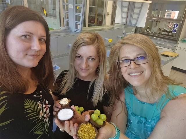 Na zdjęciu – od lewej: mgr inż. Joanna Grzelczyk, dr inż. Joanna Oracz oraz dr inż. Ilona Gałązka-Czarnecka