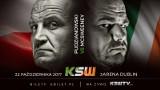 Pudzianowski vs McSweeney na KSW 40