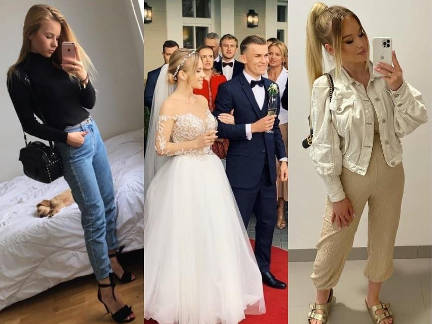 Wiktoria - urocza żona nowego piłkarza Górnika Łęczna. Zobacz zdjęcia