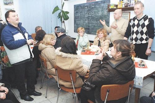 Członkowie koszalińskiego związku liczyli na wigilijne spotkanie w ciepłej atmosferze. Spędzili wieczór w siedzibie związku, przy kawie i herbacie, potem rozjechali się do domów.