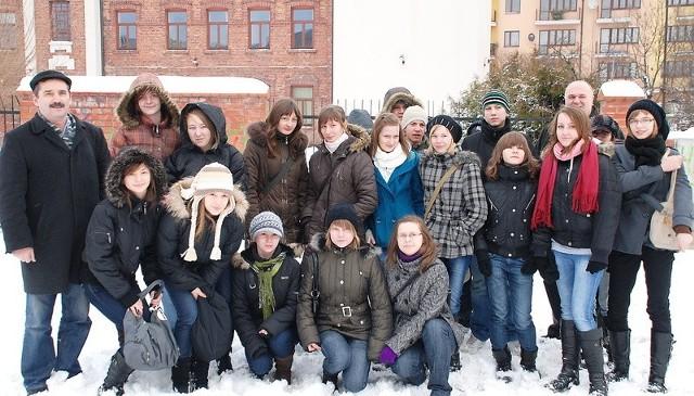 Gimnazjaliści z Bądkowa
