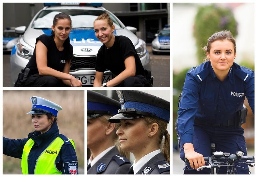 Zobaczcie zdjęcia pięknych policjantek pracujących w...