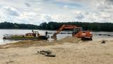Blachownia: Rewitalizacja Zalewu w pełni. Obecnie usypywana jest nowa plaża. Inwestycja zakończy się jeszcze w tym roku