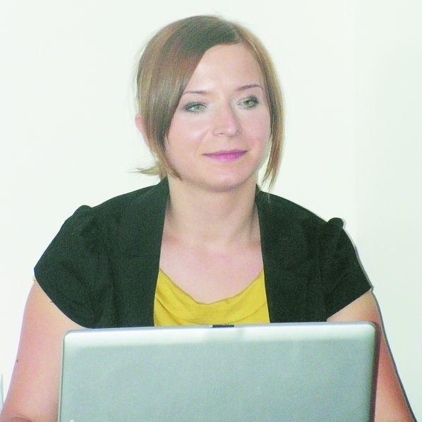 Aneta Malinowska-Sztrubel, doradca zaowodowy mówi, że tylko praca, która satysfakcjonuje, przynosi najlepsze efekty