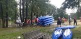 Ewakuacja Harcerskiej Bazie Obozowej Czernica. 7 osób wypadło z kajaków! Na szczęście skończyło się tylko na strachu