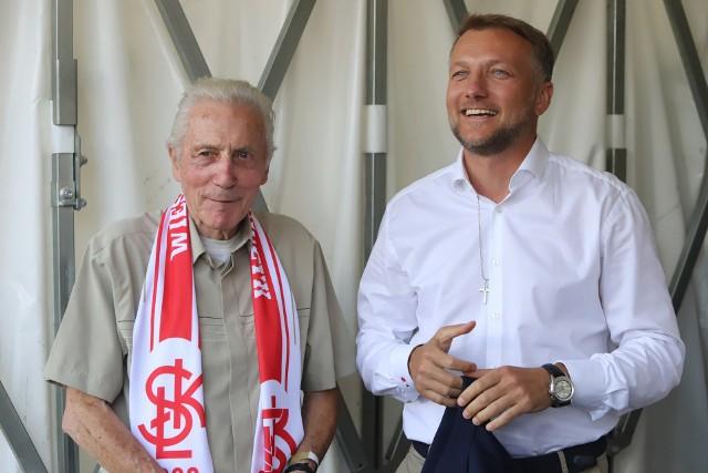 Wiesław Jańczyk i prezes Tomasz Salski