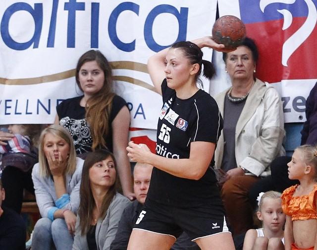 Pogoń była blisko zwycięstwa. Na zdjęciu Małgorzata Stasiak.