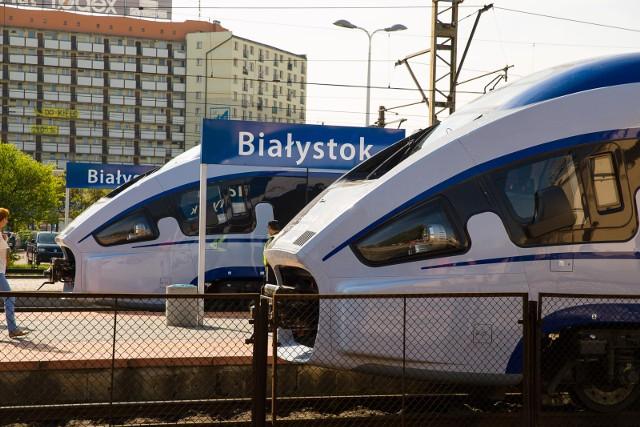 Darty, które obecnie jeżdżą przez Białystok, mogą jeździć najwyżej 160 km/h. Żeby w pełni wykorzystać możliwości linii kolejowej po przebudowie musiałyby je zastąpić inne składy.