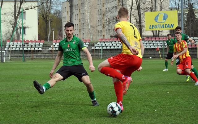 Piłkarze Stali przegrali z Koroną II Kielce