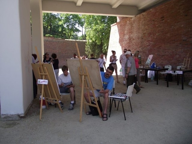 Ostatnie warsztaty plenerowe odbyły się w głogowskiej fosie.